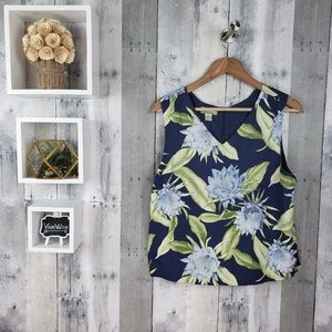 2/$20 Tommy Bahama | Floral Tank Top